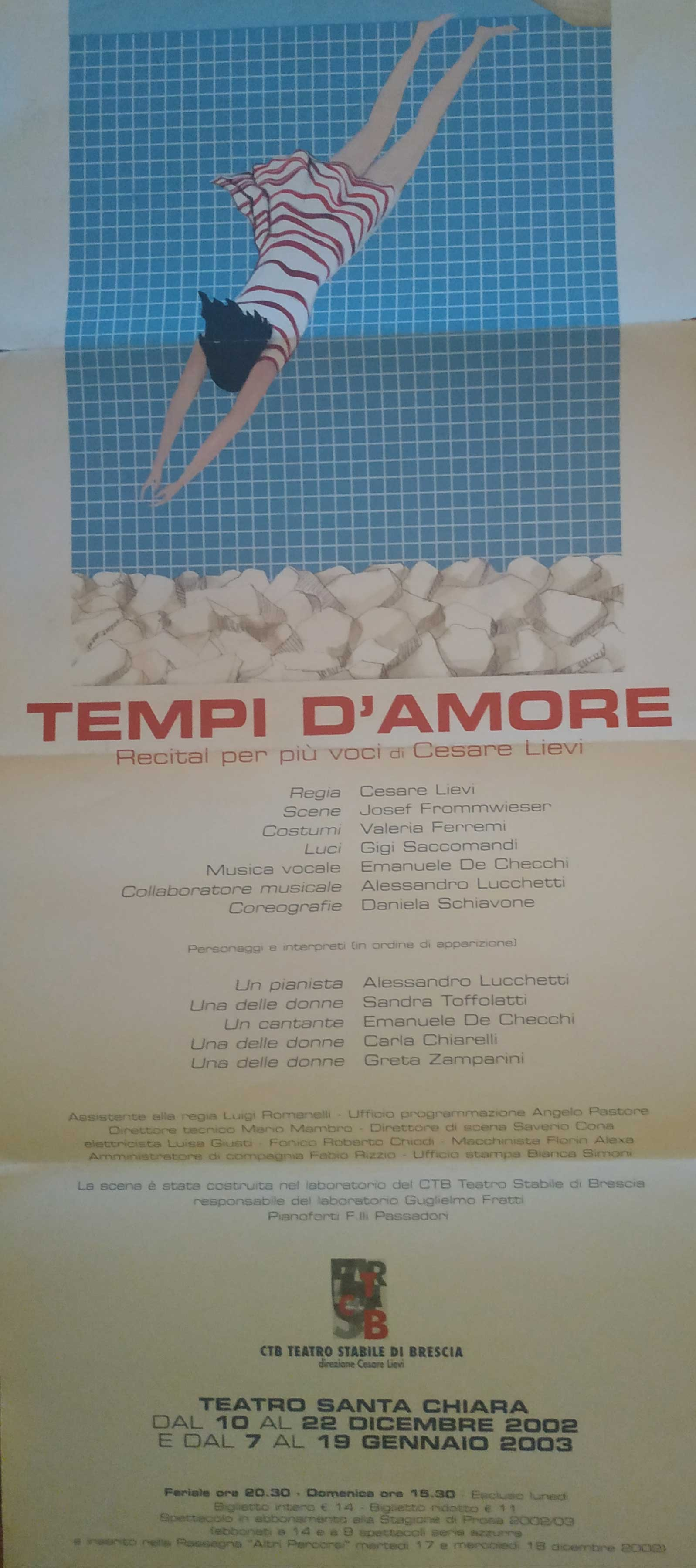 TEMPI D'AMORE by Cesare Lievi