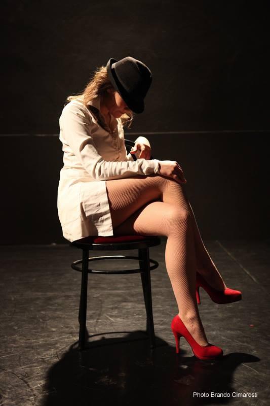 Greta Zamparini as The Escort