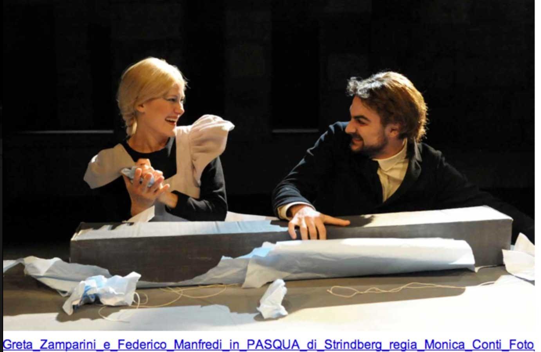 Greta Zamparini and Federico Manfredi
